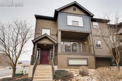 Colorado Springs Condo/Townhouse For Sale: 1099 Wisdom Heights