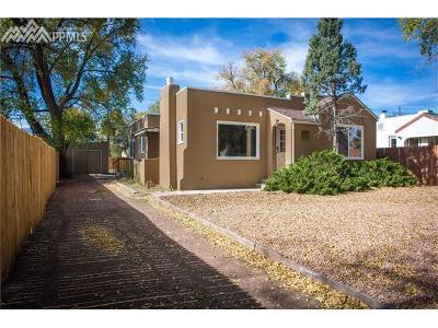 Colorado Springs Single Family Home For Sale: 318 Swope Avenue