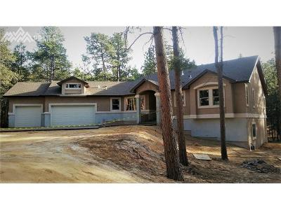 Colorado Springs Single Family Home For Sale: 3555 Walker Road