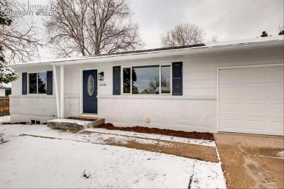 Colorado Springs Single Family Home For Sale: 5330 Del Paz Drive