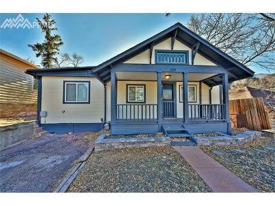 Manitou Springs Single Family Home For Sale: 104 Oklahoma Road