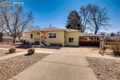Colorado Springs Single Family Home For Sale: 1225 E Cache La Poudre Street
