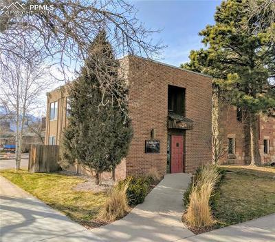 Colorado Springs Commercial For Sale: 624 S Cascade Avenue