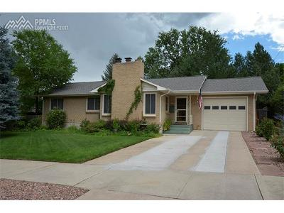 Colorado Springs Single Family Home For Sale: 1115 N Foote Avenue