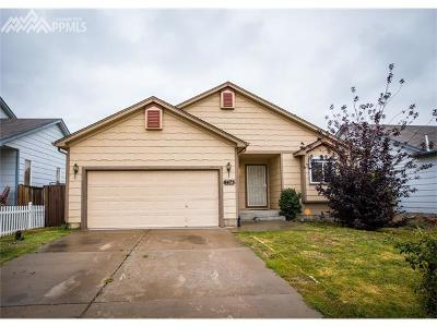 Fountain Single Family Home For Sale: 8473 Dassel Drive