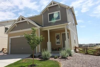 Colorado Springs Single Family Home For Sale: 6567 Cottonwood Tree Drive