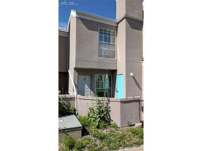 El Paso County Condo/Townhouse For Sale: 3445 Rebecca Lane #C