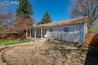 El Paso County Single Family Home For Sale: 1232 E Uintah Street