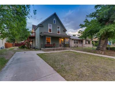 Colorado Springs Multi Family Home For Sale: 734 E Boulder Street