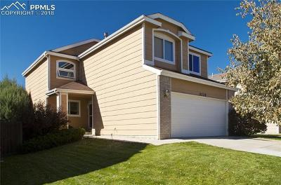 Colorado Springs CO Single Family Home For Sale: $325,000