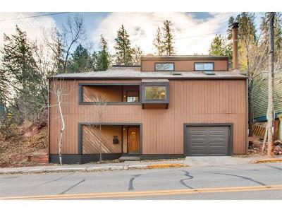 Manitou Springs Single Family Home For Sale: 223 Ruxton Avenue