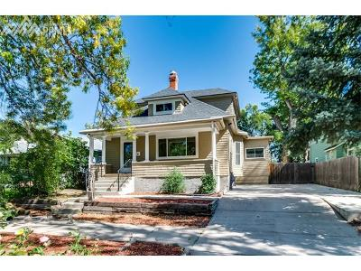Colorado Springs Single Family Home For Sale: 1343 N Wahsatch Avenue