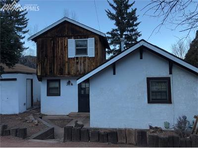 Manitou Springs Single Family Home For Sale: 134 South Path