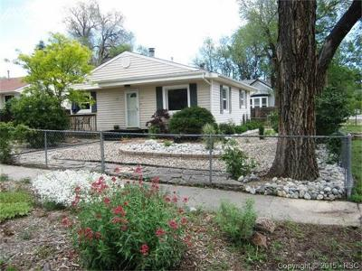 Single Family Home For Sale: 701 Bonfoy Avenue