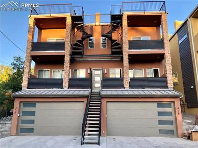 Old Colorado City Condo/Townhouse For Sale: 405 N Chestnut Street