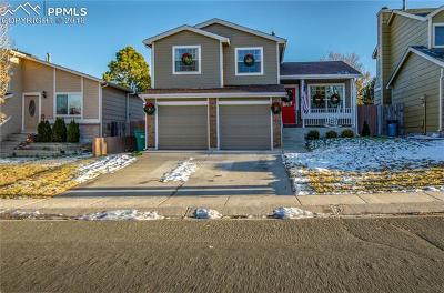 Colorado Springs CO Single Family Home For Sale: $290,000