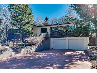 Colorado Springs Single Family Home For Sale: 2201 Hercules Drive