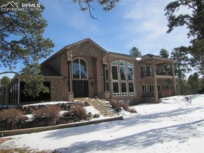 Colorado Springs CO Single Family Home For Auction: $870,000