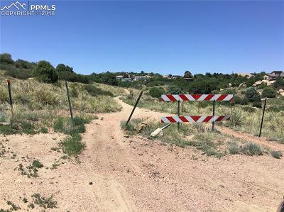 El Paso County Residential Lots & Land For Sale: 5320 Turquoise Drive