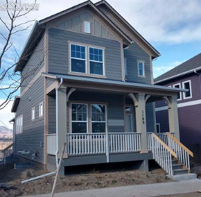 Colorado Springs Single Family Home For Sale: 1180 Solitaire Street