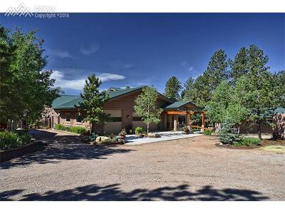 Woodland Park Single Family Home For Sale: 2330 Rampart Range Road