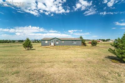 El Paso County Single Family Home For Sale: 6160 Curtis Road