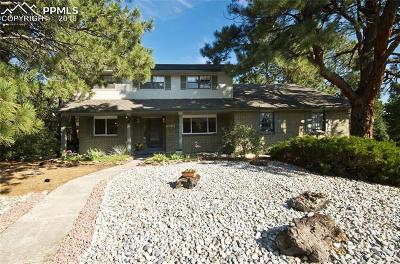 Colorado Springs Single Family Home For Sale: 520 Carved Terrace