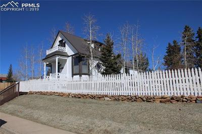 Cripple Creek Single Family Home For Sale: 105 W Carr