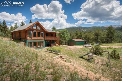 Divide Single Family Home Under Contract - Showing: 220 Rocky Mountain View