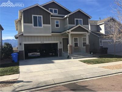 Colorado Springs Single Family Home For Sale: 2712 Sierra Springs Drive