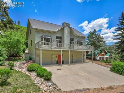 Green Mountain Falls Single Family Home For Sale: 11414 Belvidere Avenue