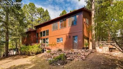 Woodland Park Single Family Home For Sale: 1110 Forest Hill Road