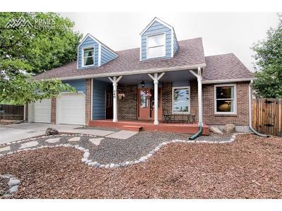 Colorado Springs Single Family Home For Sale: 540 Spring Creek Court
