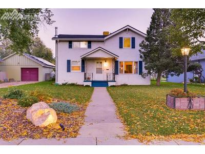 Colorado Springs Single Family Home For Sale: 1817 N Wahsatch Avenue