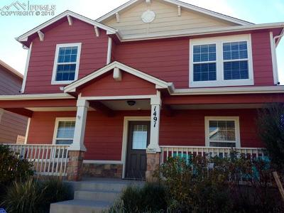Colorado Springs Single Family Home For Sale: 1491 Solitaire Street