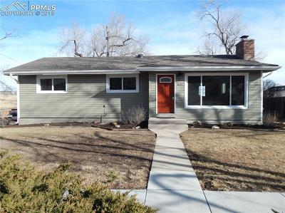 Colorado Springs Single Family Home For Sale: 825 Skyway Boulevard