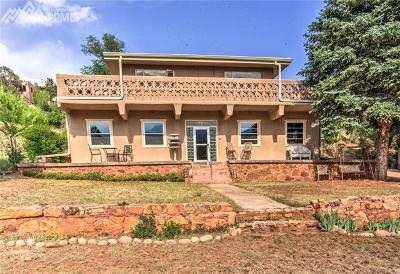 Manitou Springs Single Family Home For Sale: 218 Beckers Lane
