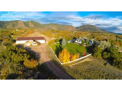 Colorado Springs Single Family Home For Sale: 02855 Hay Creek Road