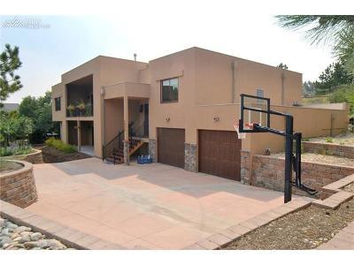 Colorado Springs Single Family Home For Sale: 6840 Oak Valley Lane