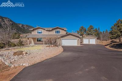 Green Mountain Falls Single Family Home For Sale: 9625 W Highway 24 Loop
