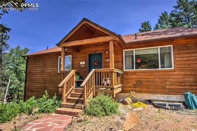 Florissant Single Family Home For Sale: 186 Grizzly Peak Drive