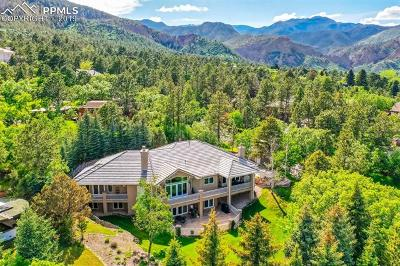 Colorado Springs Single Family Home For Sale: 9 Chase Lane
