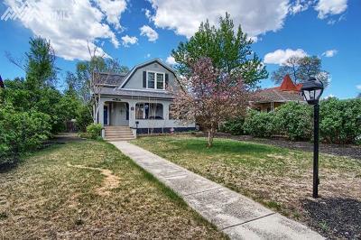 Colorado Springs Single Family Home For Sale: 2416 N Tejon Street