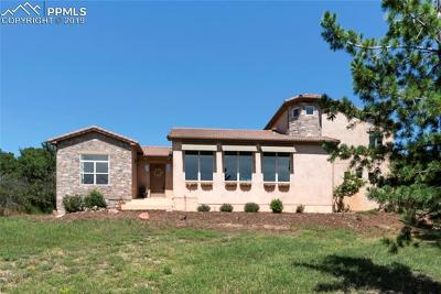 Colorado Springs Single Family Home For Sale: 4385 Old Ranch Road