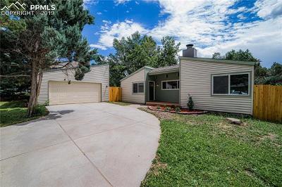 Colorado Springs CO Single Family Home For Sale: $280,000