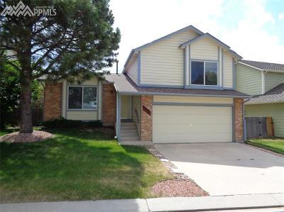 Colorado Springs Single Family Home For Sale: 15130 Chelmsford Street