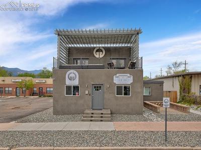 Colorado Springs Commercial For Sale: 812 S Tejon Street