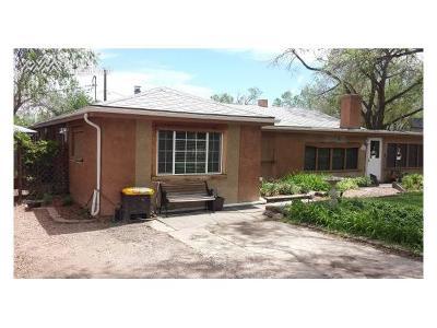 Colorado Springs Single Family Home For Sale: 1109 Race Street