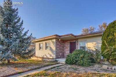 Colorado Springs Single Family Home For Sale: 848 E Fountain Boulevard