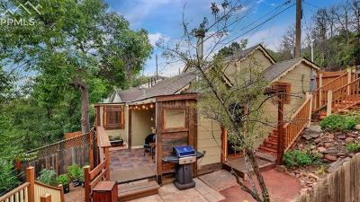 Manitou Springs Single Family Home Under Contract - Showing: 75 Waltham Avenue